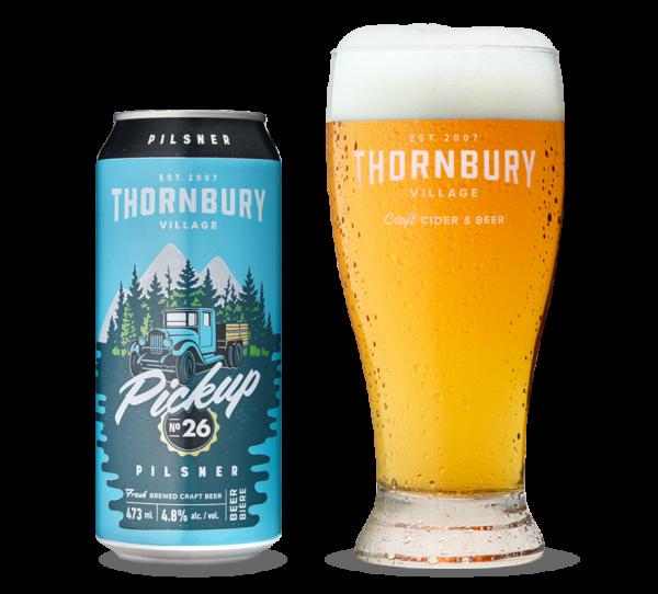 Pickup Pilsner Beer Thornbury
