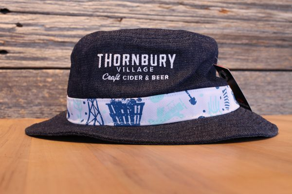 Thornbury Blue Bucket Hat Denim