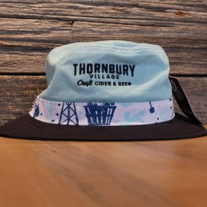 Blue Bucket Hat Ice
