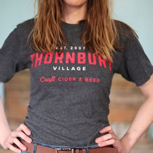 Thornbury grey t-shirt front