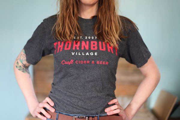 Thornbury grey t-shirt front