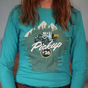 Pickup Long Sleeve T-shirt Front