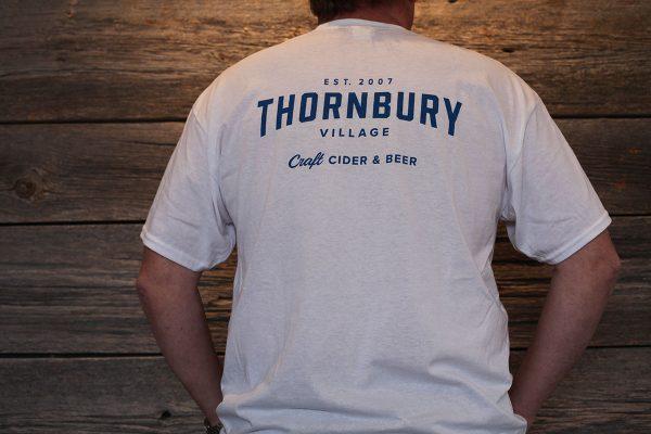 Clark White t-shirt Back