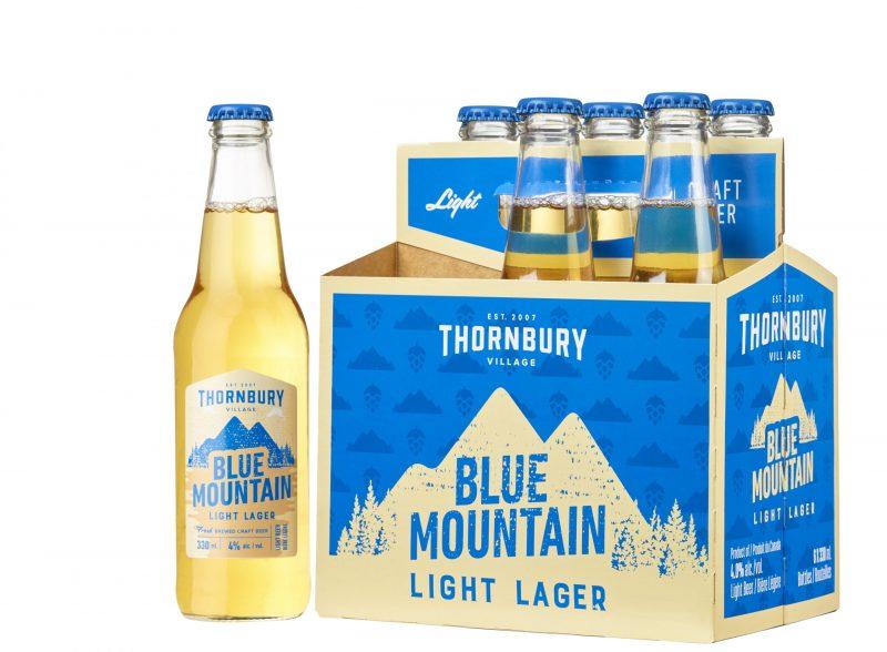 Blue Mountain Light Lager Thornbury Craft Cider Amp Beer