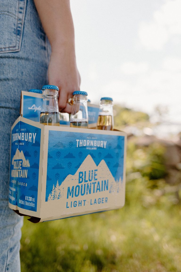 Blue Mountain Light Lager NOW Available at The Beer Store!